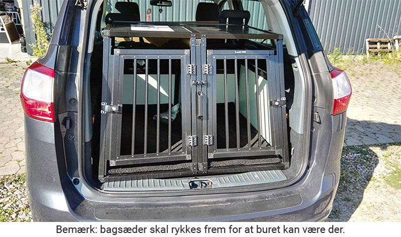 b-Safe Double XL PRO i Ford Focus S-Max