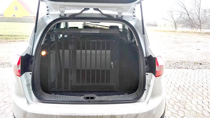 b-Safe Large Wide PRO Hunde transportbur til labrador - Ford Kuga årgang 2013