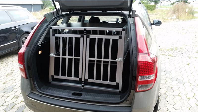 Safecrate Double Large Premium i Kia Ceed Stationcar fra 2013
