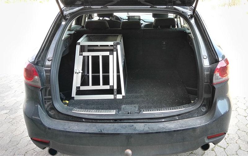 SafeCrate Xtra Small Premium i Mazda 6 Stationcar 2015