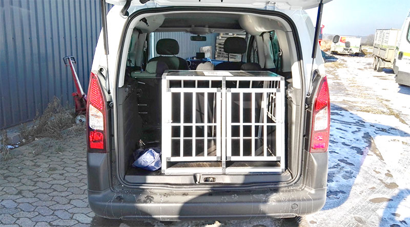 Safecrate Double Large Premium i Peugeot Partner 2017