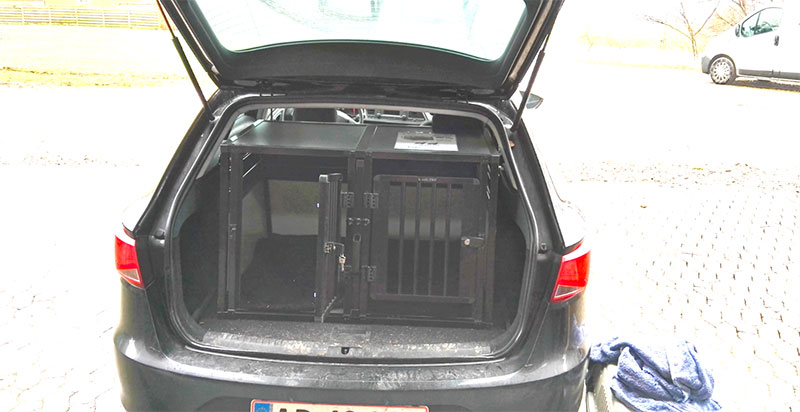 b-Safe Double Small PRO i Seat Leon Stationcar 2008