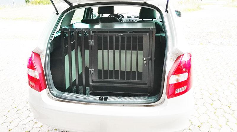 b-Safe XL Wide PRO med trin i Skoda Fabia Combi årgang 2013