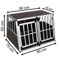 SafeCrate Double Medium Premium