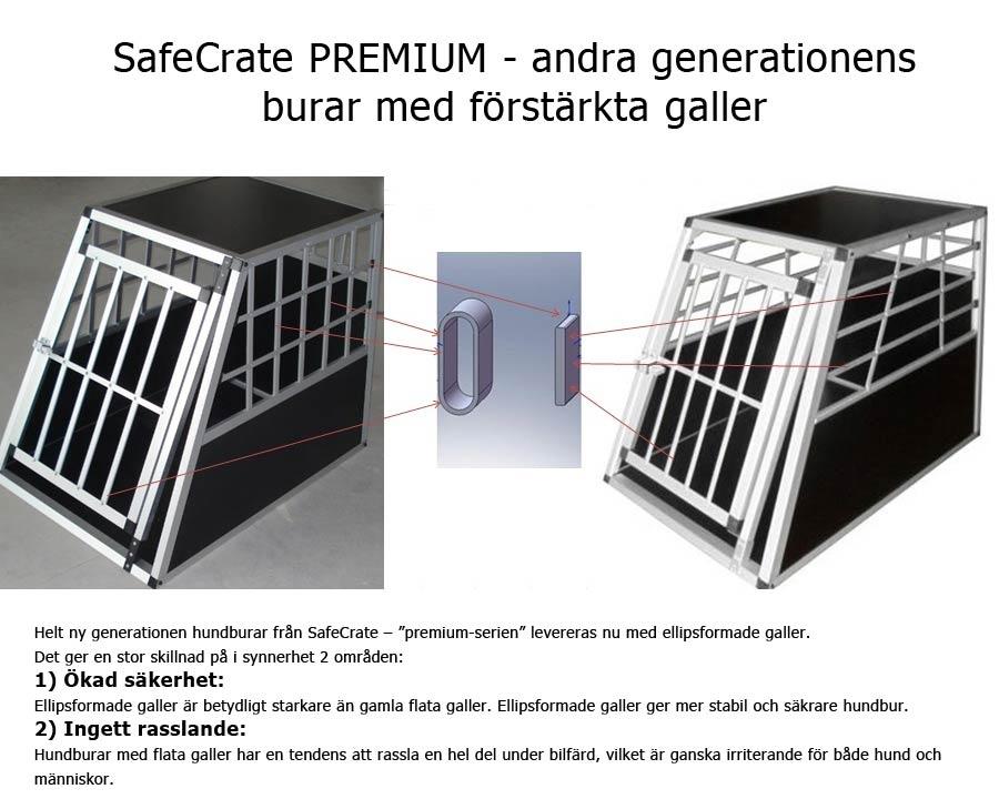 SafeCrate nu med ellipsformade galler