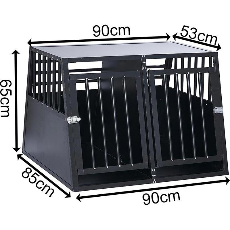 SafeCrate Double XL - 3:e Generation Hundbur
