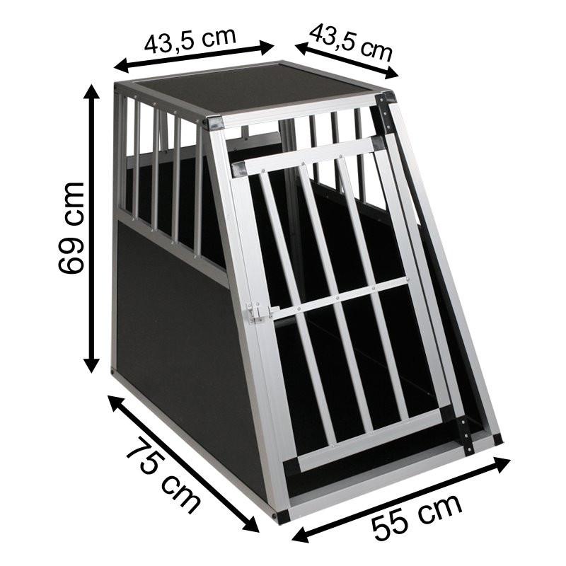 SafeCrate Large PREMIUM - Hundbur till små och mellanstora hundar