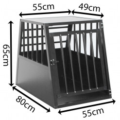 SafeCrate Large Long - 3:a Generation Hundbur