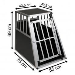 SafeCrate Large PREMIUM - 2:a Generation Hundbur