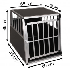 SafeCrate XL PREMIUM - Hundbur till stor hund