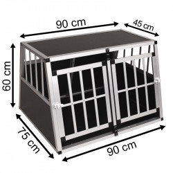 SafeCrate Double Medium Premium (2:a Generation)